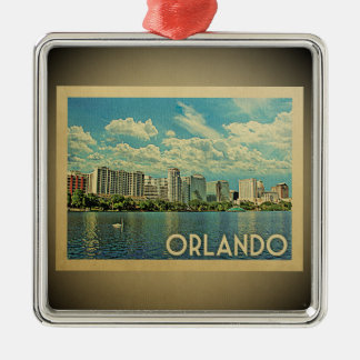 Orlando Florida Vintage Travel Ornament