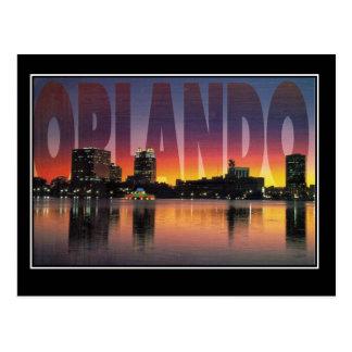 Orlando Florida Vintage Travel Postcard Postcard
