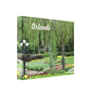 Orlando Gardens Canvas Print