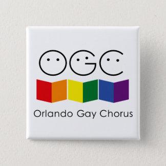 Orlando Gay Chorus Square Pin
