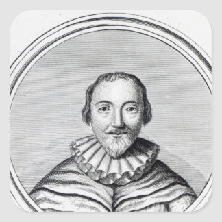 Orlando Gibbons, engraved by J. Caldwall Square Sticker