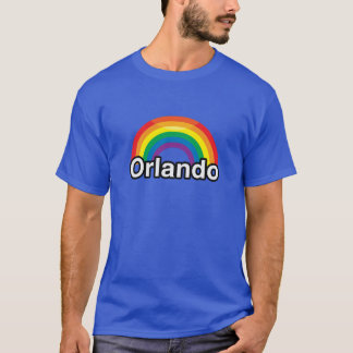 ORLANDO LGBT PRIDE RAINBOW -.png T-Shirt
