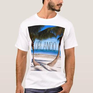 Orlando Palm Trees Short Sleeved T-shirt