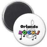 Orlando Rocks 6 Cm Round Magnet