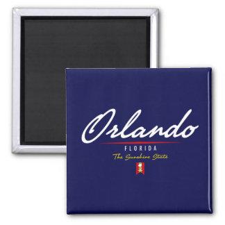 Orlando Script Refrigerator Magnet