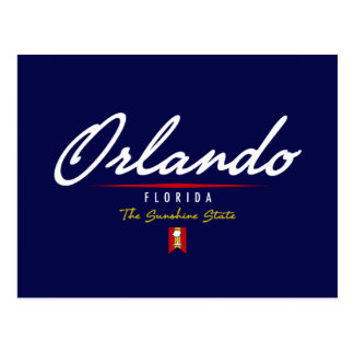 Orlando Script Postcard