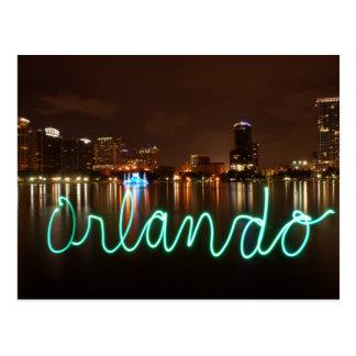 Orlando Skyline Postcard