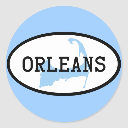 Orleans, MA Cape Cod Sticker