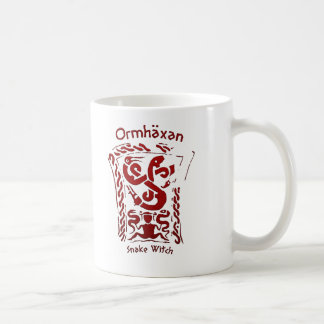 Ormhäxan Snake Witch Rune Coffee Mug