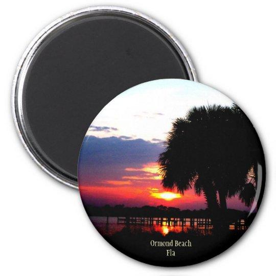 ormondbeachsunrise, Ormond BeachFla Magnet