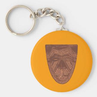 Ornament Afrika Africa Schlüsselanhänger