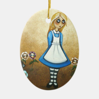 Ornament Alice in Wonderland