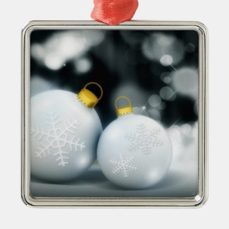 Ornament and Snowflake