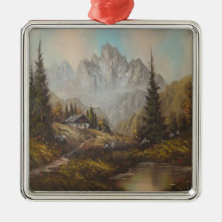 Ornament Ann Hayes Painting Bavarian Dream
