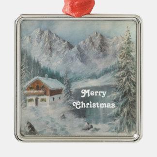 Ornament Ann Hayes Painting Bavarian Snow Dream