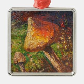 Ornament Ann Hayes Painting Mushroom