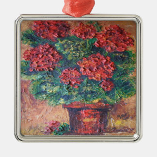 Ornament Ann Hayes Painting Red Beauty