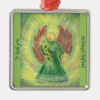 Ornament: Archangel Raphael Christmas Ornament