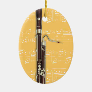 Ornament - Bassoon 2 - Pick your color