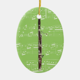 Ornament - Bassoon - Pick your color