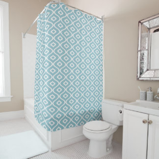 Ornament Blue fish - Shower Curtain