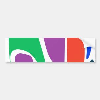 Ornament Car Bumper Sticker