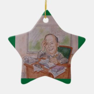 Ornament:  Caricature, Vintage Christmas Ornament