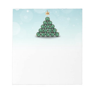 Ornament Christmas Tree - Notepad