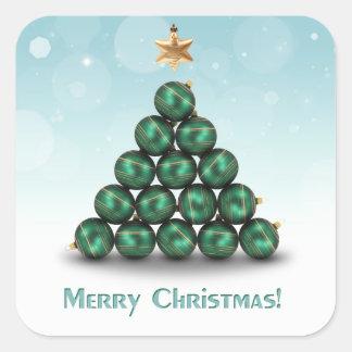 Ornament Christmas Tree - Sticker