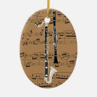 Ornament - Clarinets - Pick your color