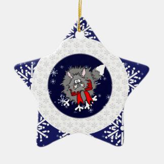 Ornament - Crazy Christmas Cat