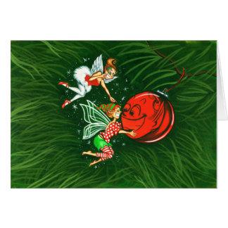 Ornament Fairies Card