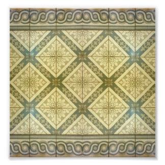 Ornament Floor Design Photograph