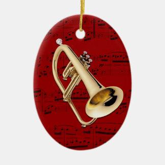 Ornament - Flugelhorn - Pick your color