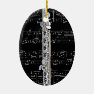 Ornament - Flute 2 - Pick your color