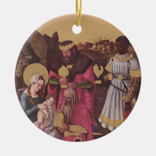 Ornament: Hans Baldung Epiphany Round Ceramic Decoration