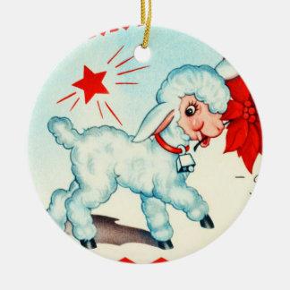 Ornament-Holiday Art-Vintage Christmas 7 Christmas Ornament