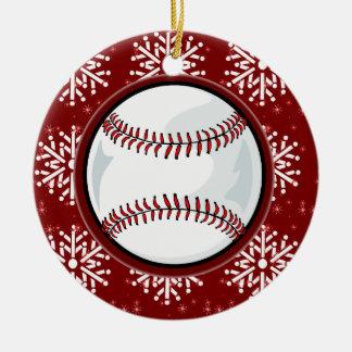 Ornament - Holiday Baseball