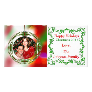 Ornament Holiday Photo Card