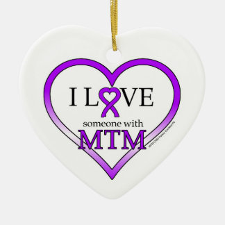 Ornament- I Love Someone with MTM Christmas Ornament