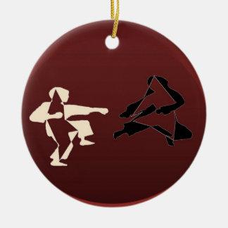 Ornament martial arts ninja