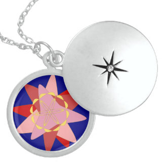 Ornament - Medium Sterling Silver Round Locket 