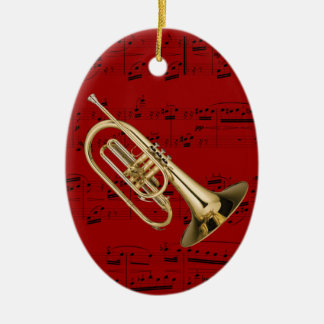 Ornament - Mellophone - Pick your color