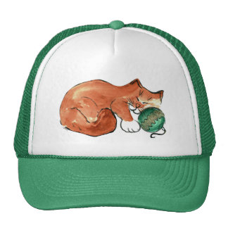 Ornament Nap for Kitty Cap