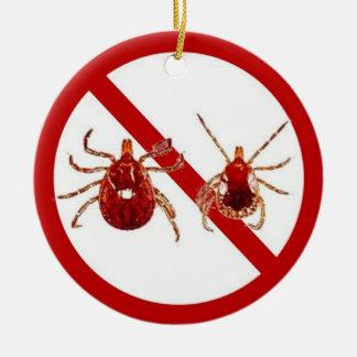 Ornament or Door Hanger, No Lyme!