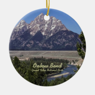 Ornament: Oxbow Bend (Circle)
