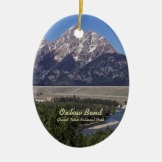 Ornament: Oxbow Bend (Oval)