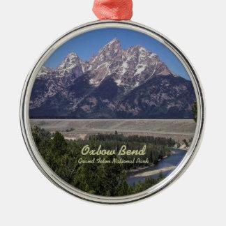 Ornament: Oxbow Bend (Premium Round)