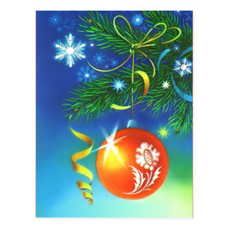 Ornament Postcard