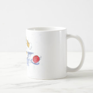 Ornament Pounce by Kitten Basic White Mug
